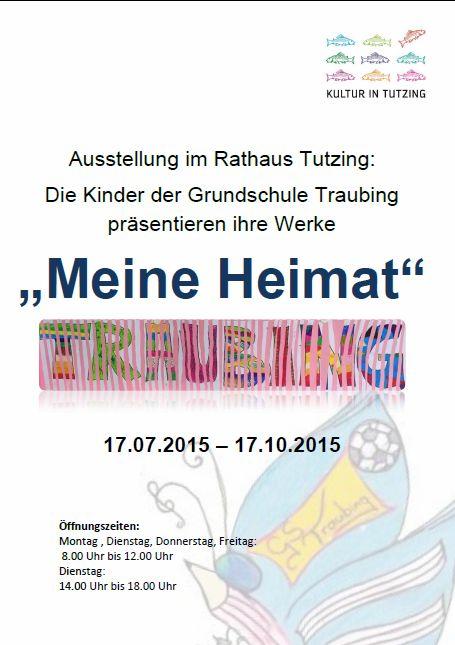 Plakat Grundschule Traubing