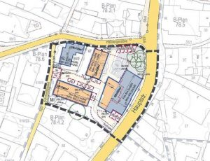 """Bebauungsplan  Nr. 78 """"Ortszentrum Tutzing"""" Teilbebauungsplan 4.1 – Andechser Hof"""