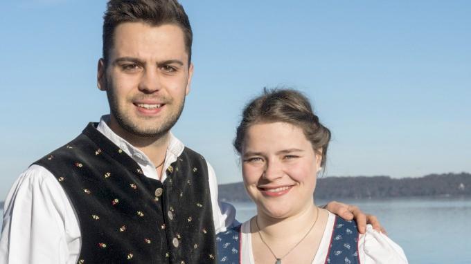 Fischerhochzeit, Brautpaar 2017
