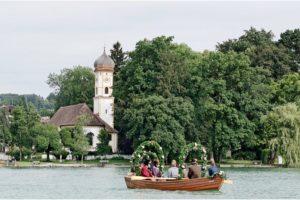 Fischerhochzeit am Starnberger See