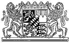 Großes Bayerisches Staatswappen