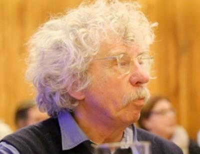 Johano Strasser - Portrait zum Spendenstand