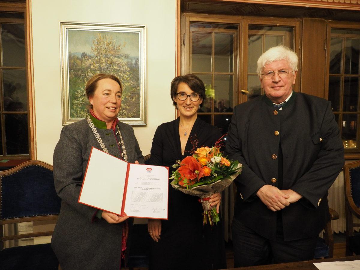 , Wilhelm-Hausenstein-Kulturpreis der Gemeinde Tutzing