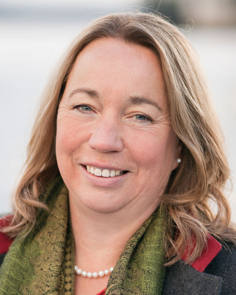 Erste Bürgermeisterin Marlene Greinwald Portrait