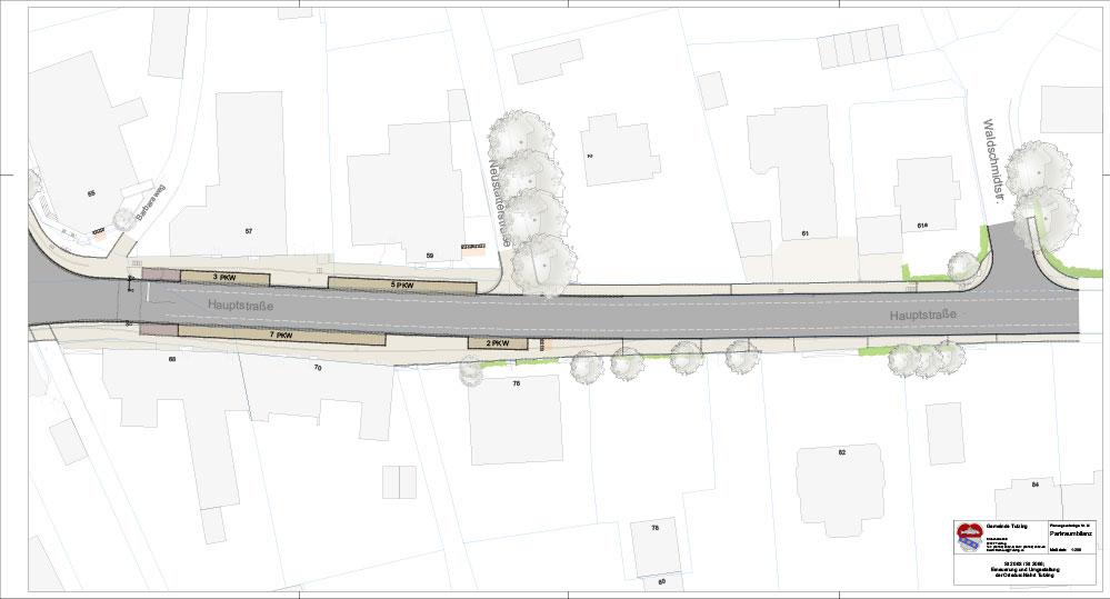 Neugestaltung der Tutzinger Hauptstraße 1