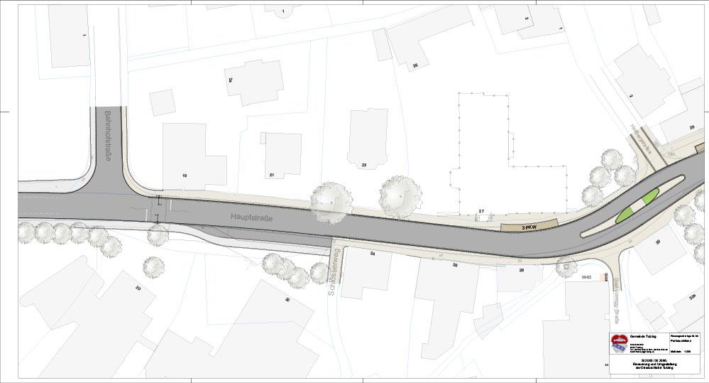 Neugestaltung der Tutzinger Hauptstraße 3