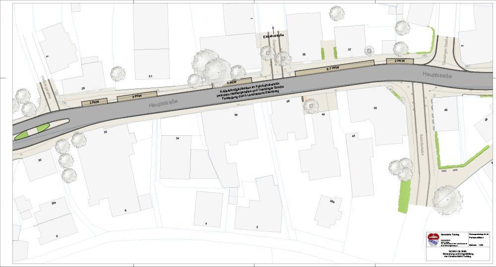 Tutzinger Hauptstrasse, Neugestaltung der Tutzinger Hauptstraße