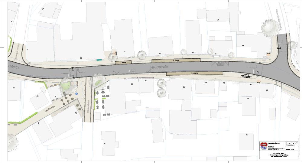 Neugestaltung der Tutzinger Hauptstraße 4