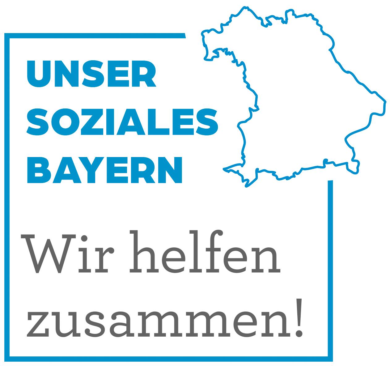 UNSER SOZIALES Bayern - Wir helfen zusammen!