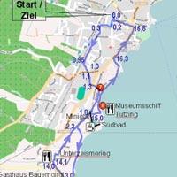 Plan Wanderweg